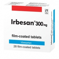 ИРБЕСАН TABL. FILM. COAT. 300 MG X28 18,46 лв. от Apteka.puls.bg
