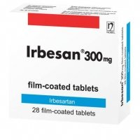 ИРБЕСАН TABL. FILM. COAT. 300 MG X28 19,24 лв. от Apteka.puls.bg
