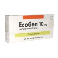 ЕСОБЕЛ TABL. FILM. COAT. 10 MG X28 11,50 лв. от Apteka.puls.bg