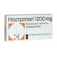 НООТРОПИЛ 1200 TABL. FILM. COAT. 1200 MG X20 Б 5,50 лв. от Apteka.puls.bg