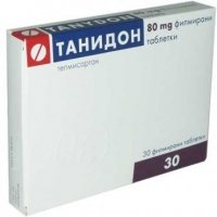 ТАНИДОН TABL. FILM. COAT. 80 MG X30 9,00 лв. от Apteka.puls.bg