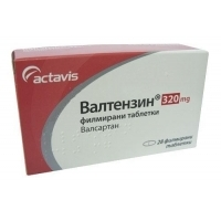 ВАЛТЕНЗИН TABL. FILM. COAT. 320 MG X28 13,90 лв. от Apteka.puls.bg