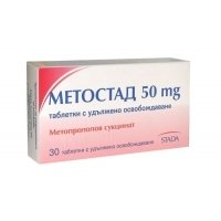 МЕТОСТАД TABL. RELEASE PROLONG 50 MG X30 6,24 лв. от Apteka.puls.bg