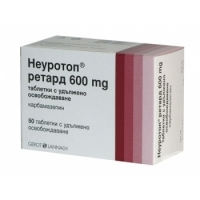 НЕУРОТОП RETARD TABL 600 MG X50 16,70 лв. от Apteka.puls.bg